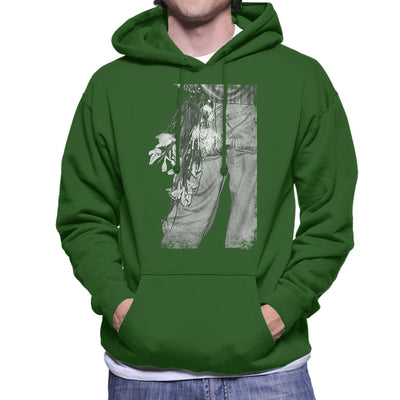 The Smiths Morrissey Flowers In The Back Pocket Men's Hooded Sweatshirt