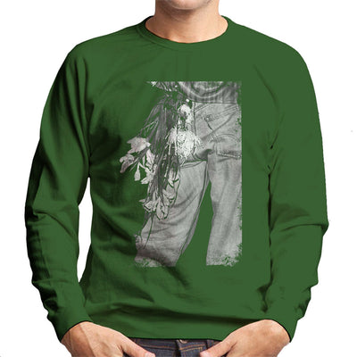 The Smiths Morrissey Flowers In The Back Pocket Men's Sweatshirt