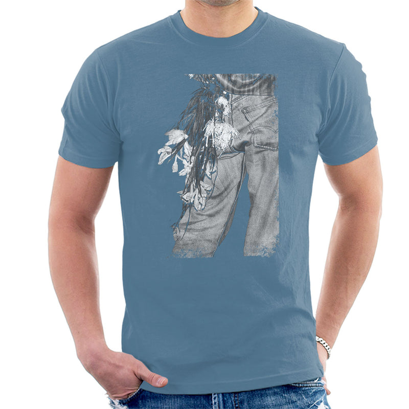 The Smiths Morrissey Flowers In The Back Pocket Men's T-Shirt - NME Merch