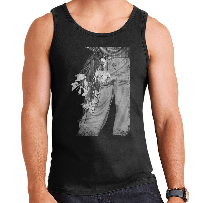 The Smiths Morrissey Flowers In The Back Pocket Men's Vest - NME Merch