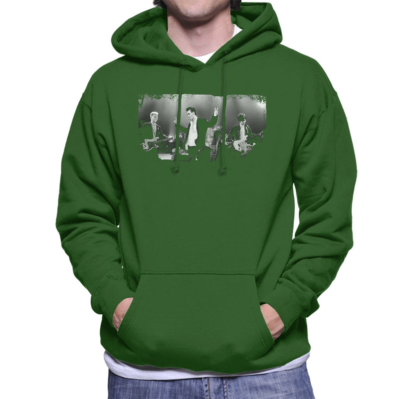 The Smiths Live BBC Manchester 1985 Men's Hooded Sweatshirt - NME Merch
