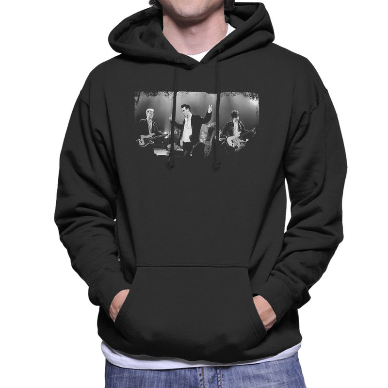 The Smiths Live BBC Manchester 1985 Men's Hooded Sweatshirt