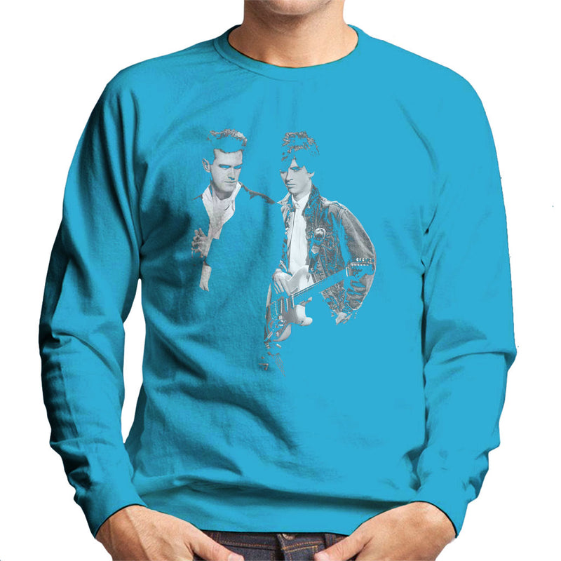 The Smiths Morrissey And Johnny Marr Together Live 1985 Men's Sweatshirt - NME Merch