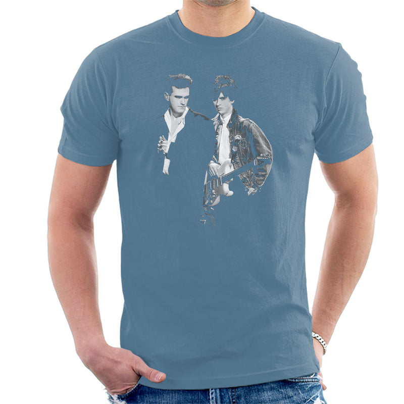 The Smiths Morrissey And Johnny Marr Together Live 1985 Men's T-Shirt - NME Merch