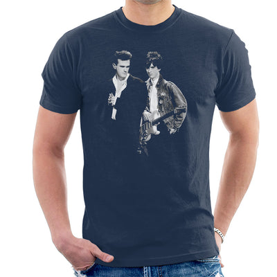 The Smiths Morrissey And Johnny Marr Together Live 1985 Men's T-Shirt