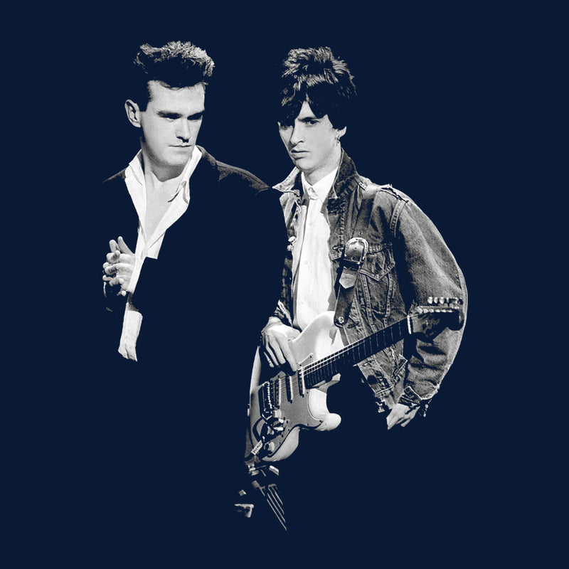 The Smiths Morrissey And Johnny Marr Together Live 1985 Women's Vest - NME Merch