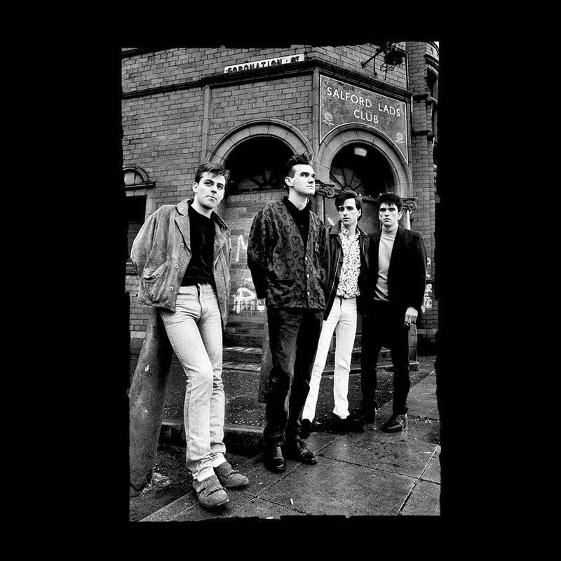 The Smiths In Manchester At Salford Lads Club 1985 Men's Vest