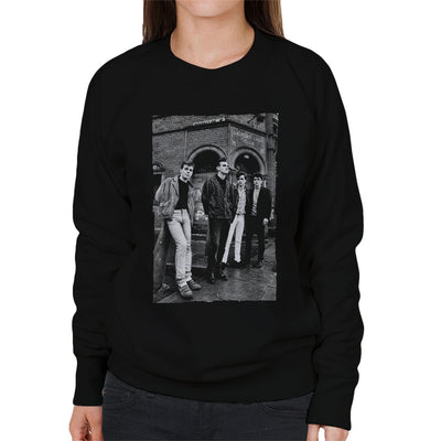 The Smiths In Manchester At Salford Lads Club 1985 Women's Sweatshirt