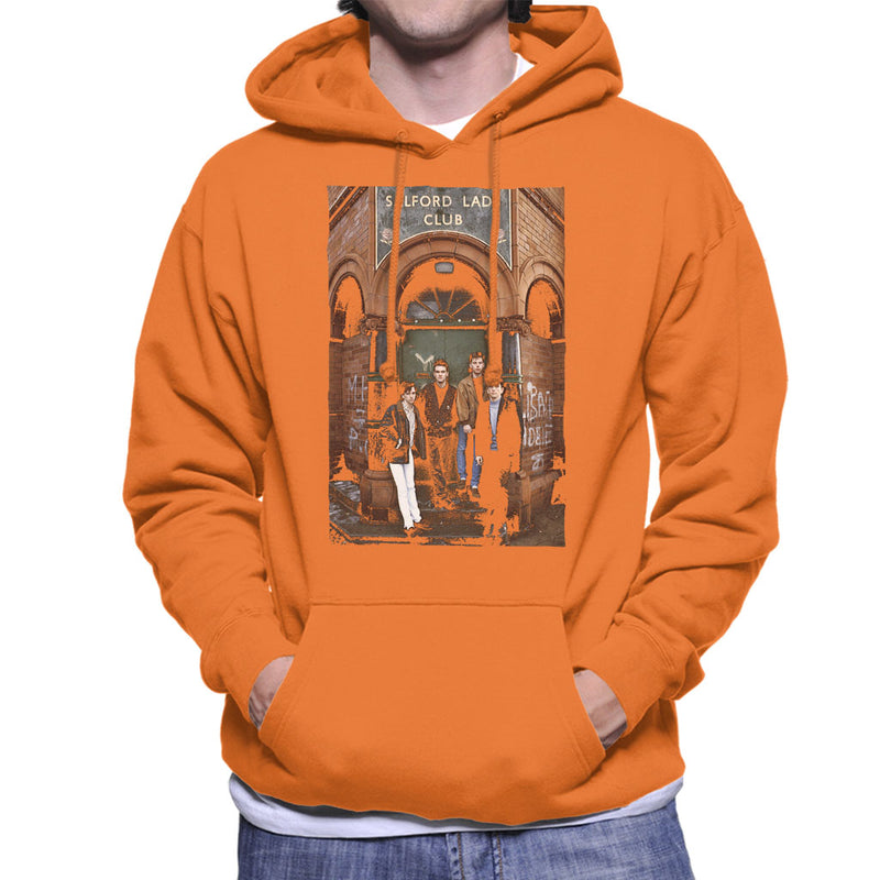 The Smiths At Salfords Lads Club Colour 1985 Men's Hooded Sweatshirt - NME Merch