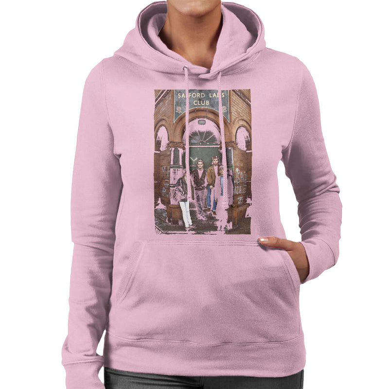 The Smiths At Salfords Lads Club Colour 1985 Women's Hooded Sweatshirt - NME Merch