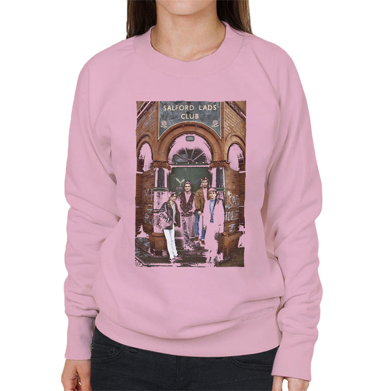 The Smiths At Salfords Lads Club Colour 1985 Women's Sweatshirt - NME Merch