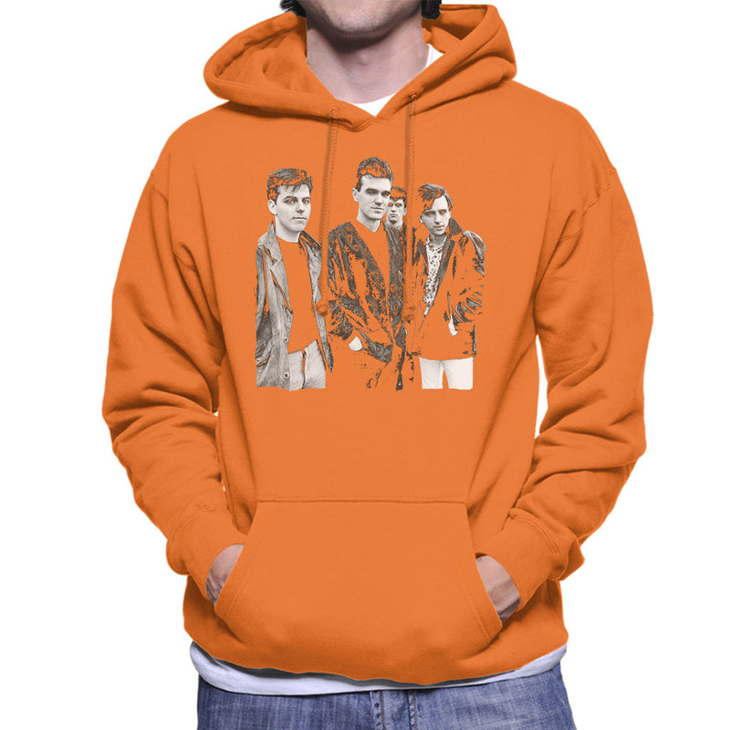 The Smiths Closeup From Salford Lads Club 1985 Men's Hooded Sweatshirt - NME Merch
