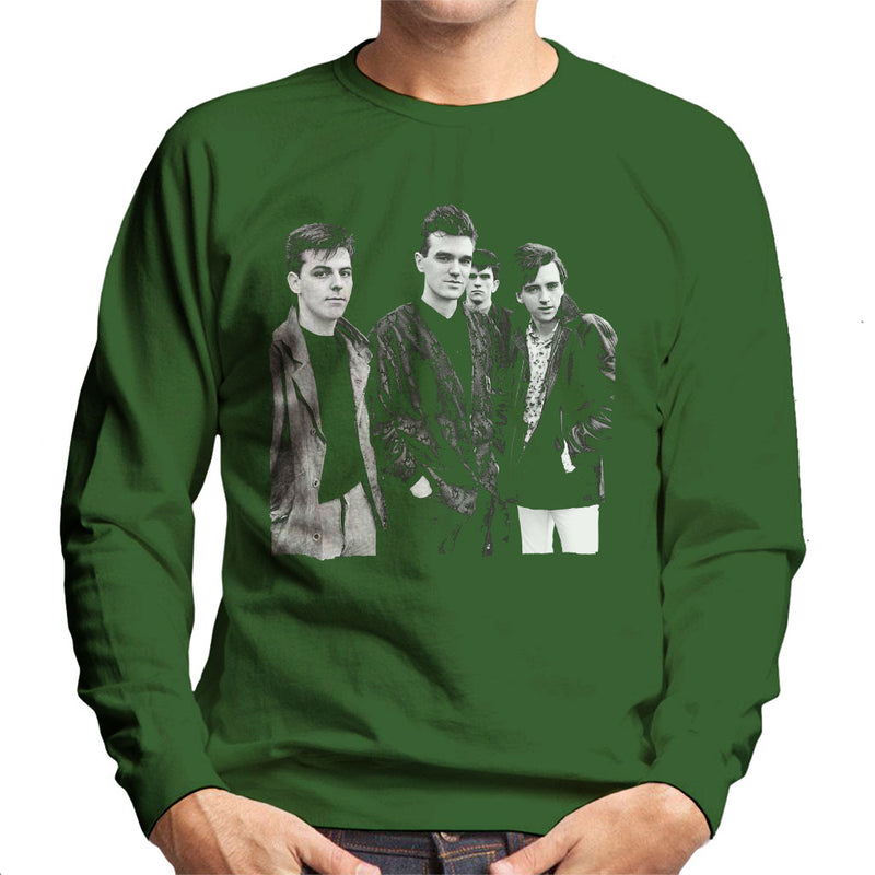 The Smiths Closeup From Salford Lads Club 1985 Men's Sweatshirt - NME Merch
