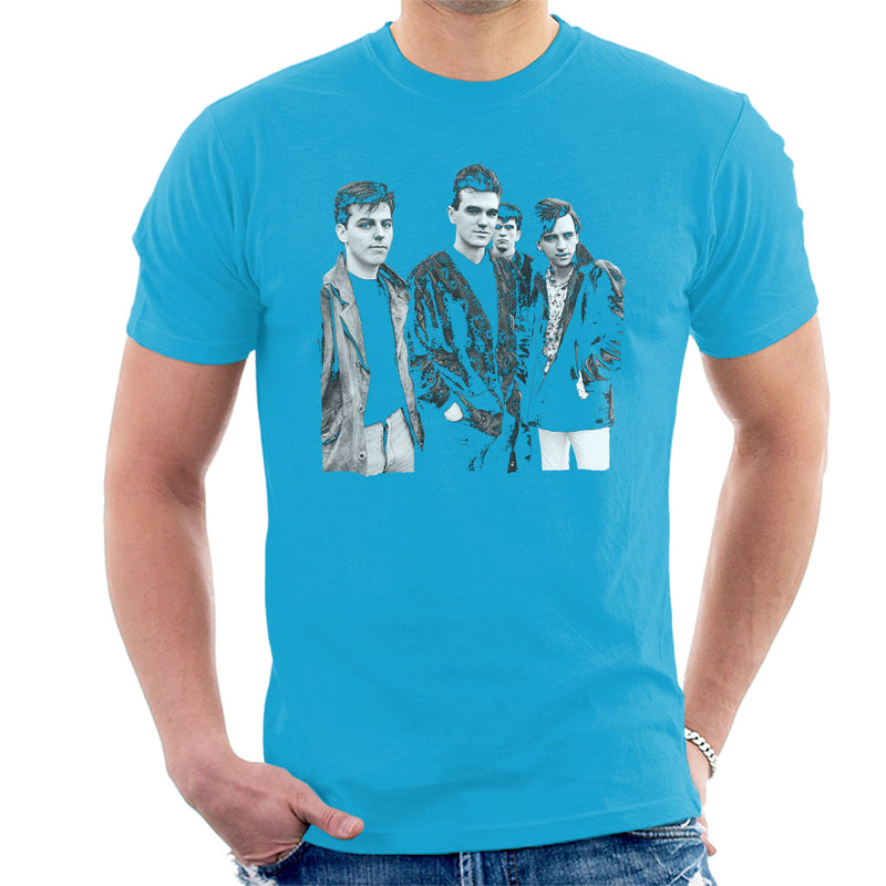 The Smiths Closeup From Salford Lads Club 1985 Men's T-Shirt - NME Merch