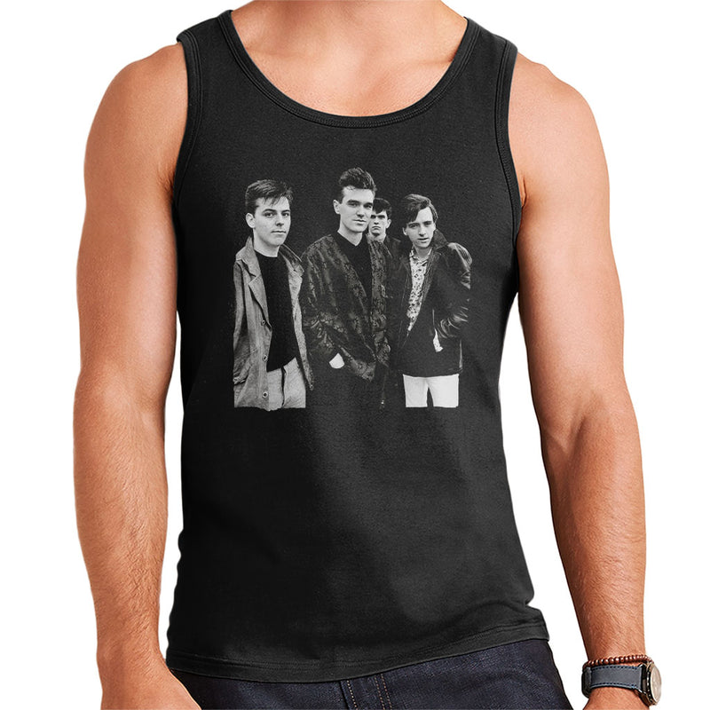 The Smiths Closeup From Salford Lads Club 1985 Men's Vest - NME Merch