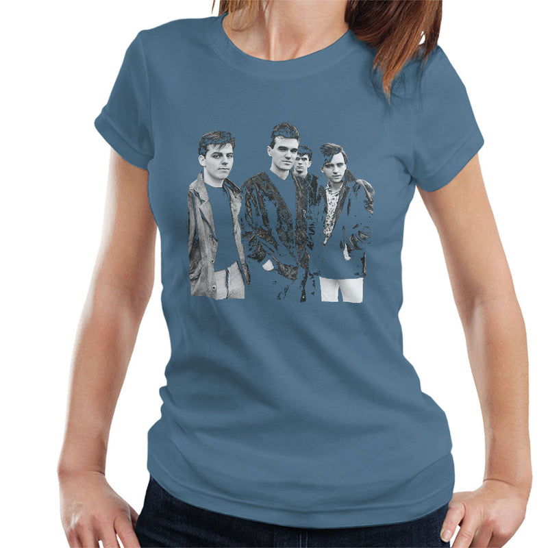 The Smiths Closeup From Salford Lads Club 1985 Women's T-Shirt - NME Merch