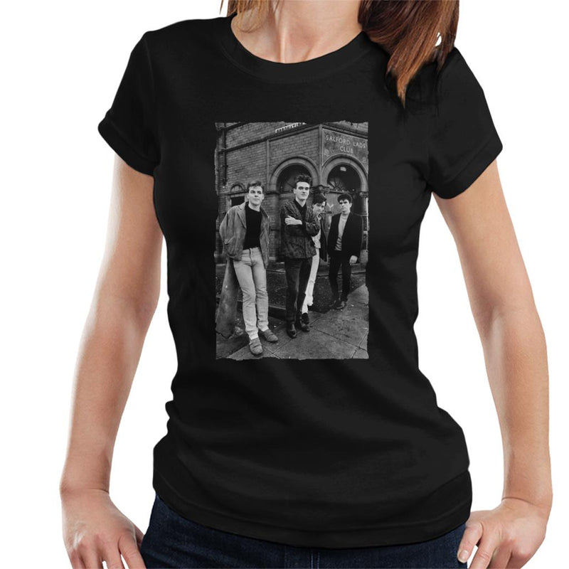 The Smiths Alternative Shot Salford Lads Club 1985 Women's T-Shirt