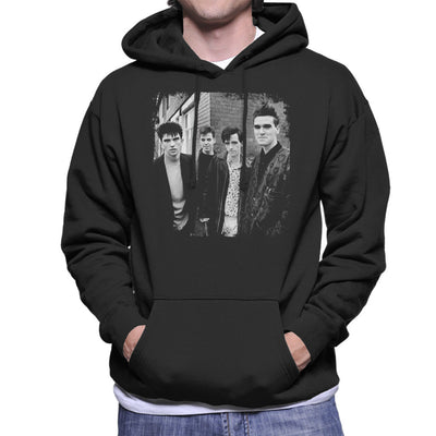 The Smiths Salford Lads Club Shoot Street Shot 1985 Men's Hooded Sweatshirt