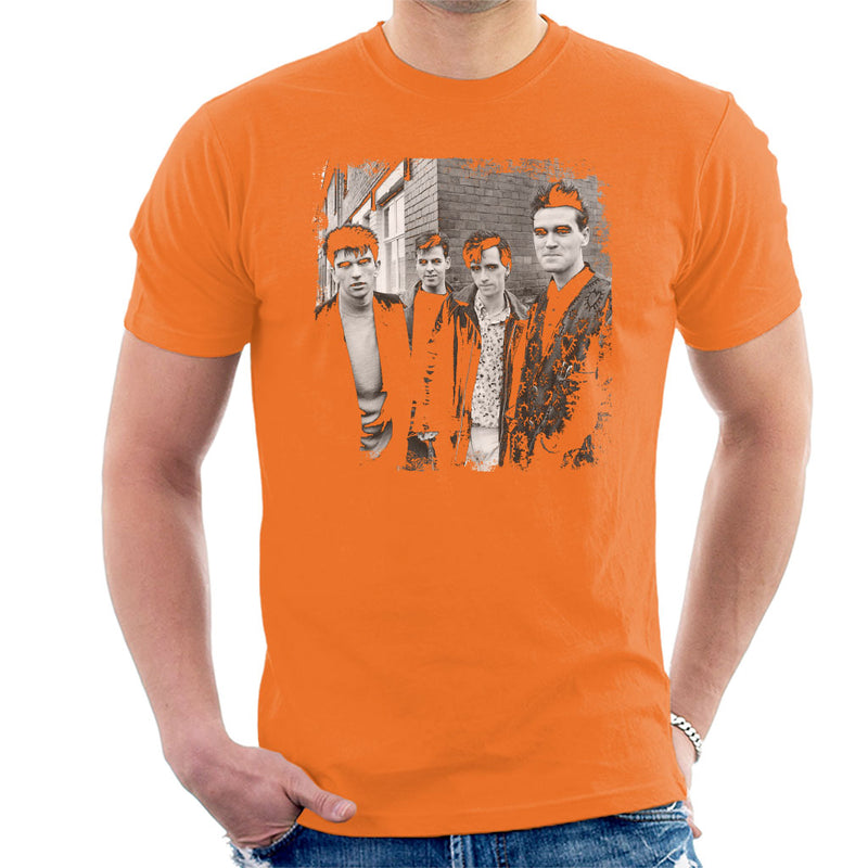 The Smiths Salford Lads Club Shoot Street Shot 1985 Men's T-Shirt - NME Merch
