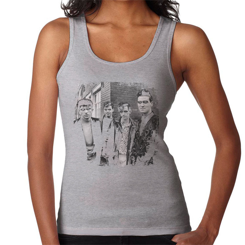 The Smiths Salford Lads Club Shoot Street Shot 1985 Women's Vest - NME Merch