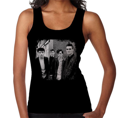 The Smiths Salford Lads Club Shoot Street Shot 1985 Women's Vest