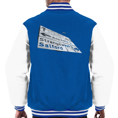 Manchester Road Signs 1985 Men's Varsity Jacket