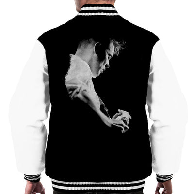 Bernard Sumner Of New Order Live Men's Varsity Jacket