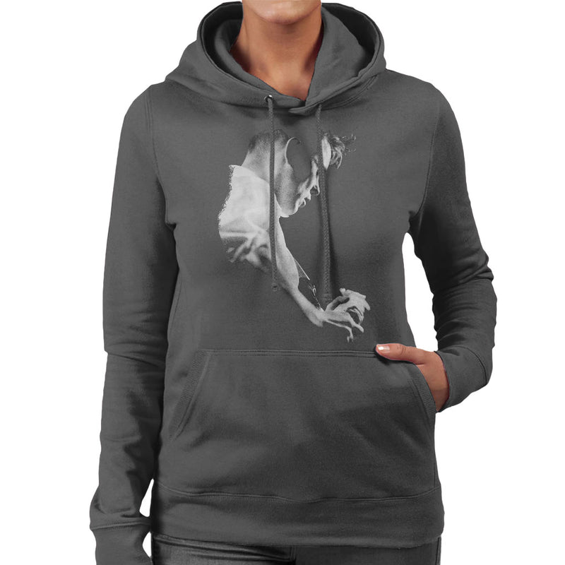 Bernard Sumner Of New Order Live Women's Hooded Sweatshirt - NME Merch