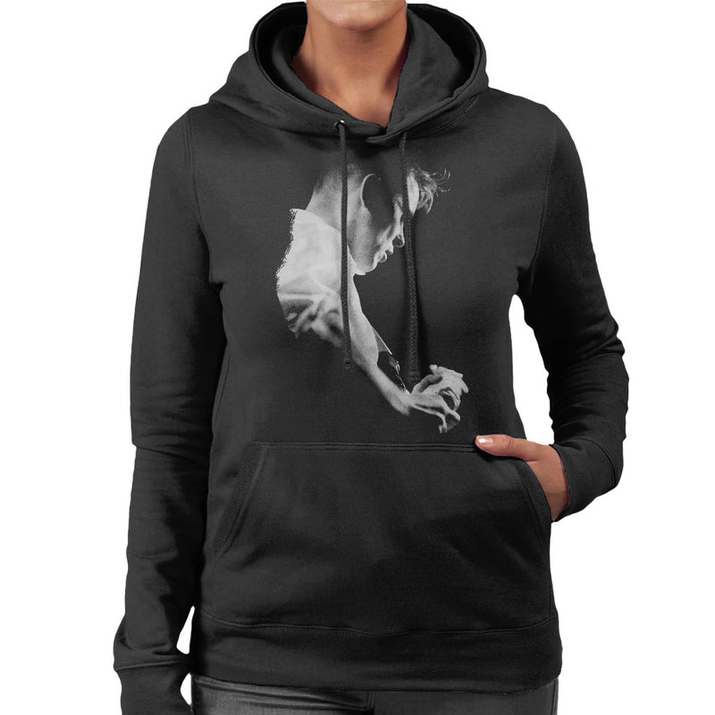 Bernard Sumner Of New Order Live Women's Hooded Sweatshirt
