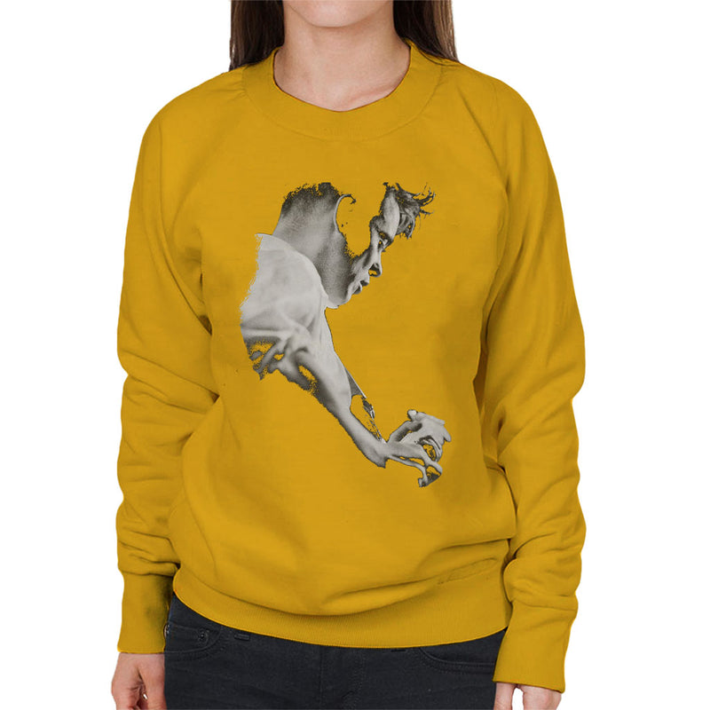 Bernard Sumner Of New Order Live Women's Sweatshirt - NME Merch