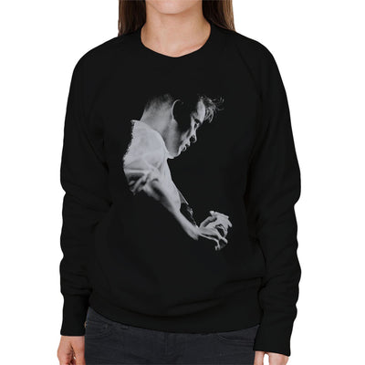 Bernard Sumner Of New Order Live Women's Sweatshirt