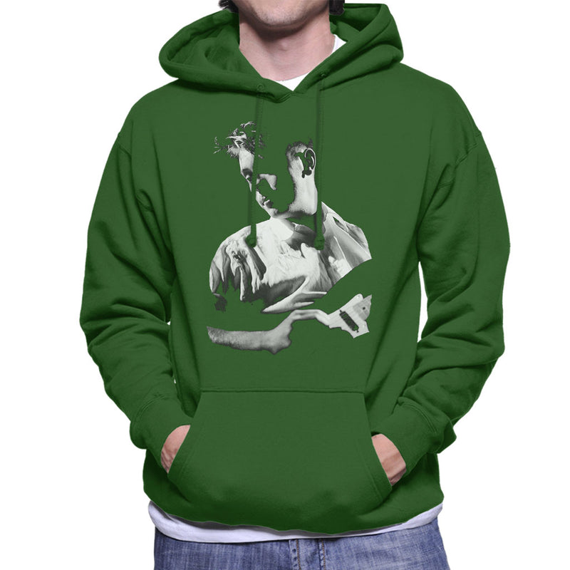 New Order Live Bernard Sumner Men's Hooded Sweatshirt - NME Merch