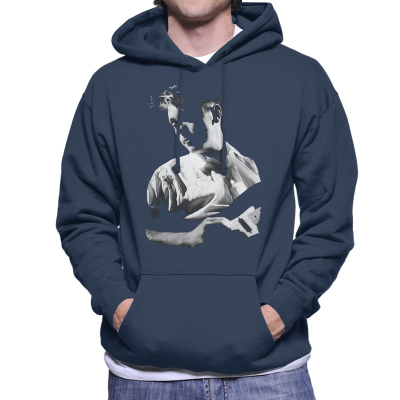 New Order Live Bernard Sumner Men's Hooded Sweatshirt