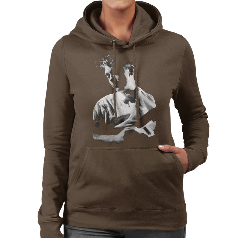 New Order Live Bernard Sumner Women's Hooded Sweatshirt - NME Merch