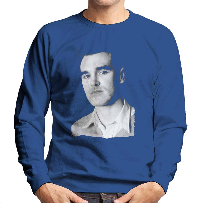 The Smiths Studio Portrait Of Morrissey Men's Sweatshirt - NME Merch