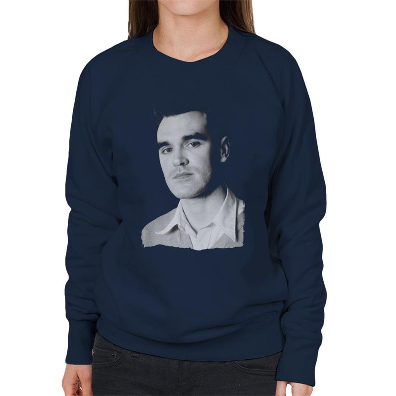 The Smiths Studio Portrait Of Morrissey Women's Sweatshirt - NME Merch