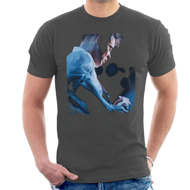 Bernard Sumner Of New Order Guitar Side Shot Men's T-Shirt - NME Merch