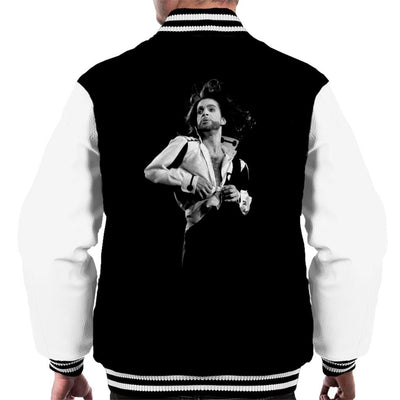 Prince Nude Tour 1991 Jazzy Shirt Men's Varsity Jacket
