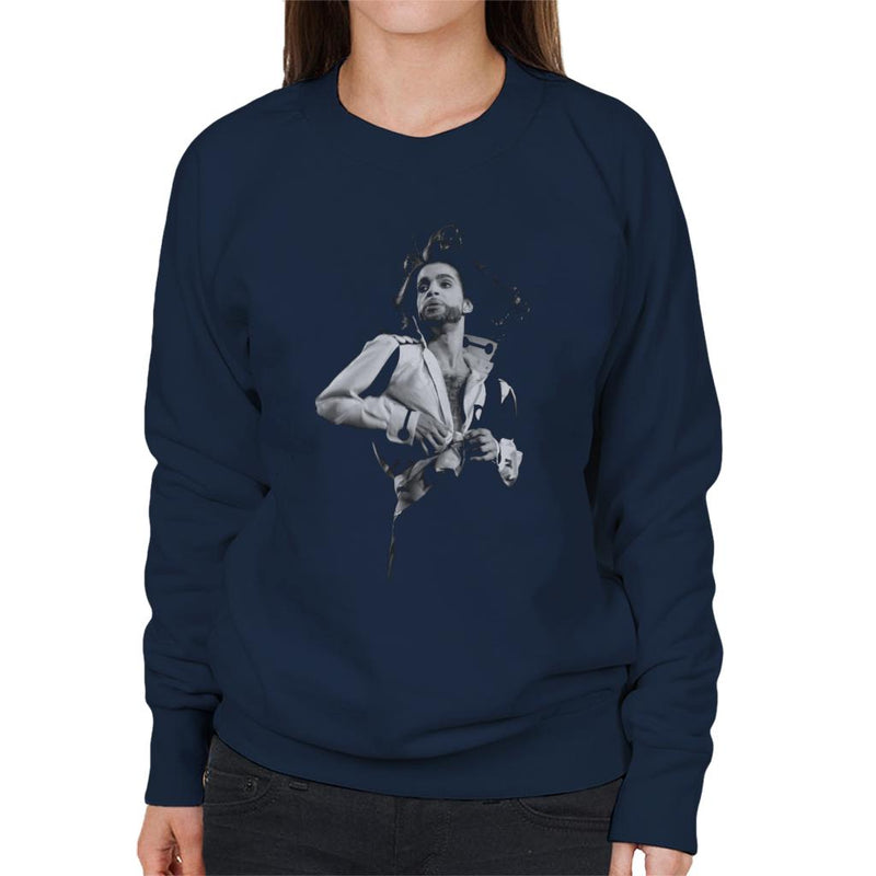 Prince Nude Tour 1991 Jazzy Shirt Women's Sweatshirt - NME Merch