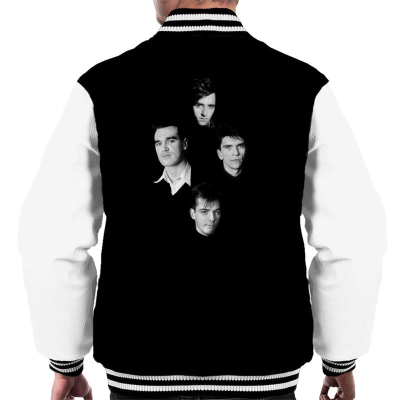 The Smiths Headshots Men's Varsity Jacket - NME Merch
