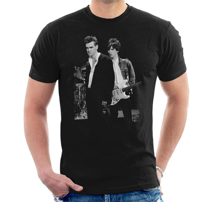 Morrissey And Johnny Marr Of The Smiths 1985 Men's T-Shirt