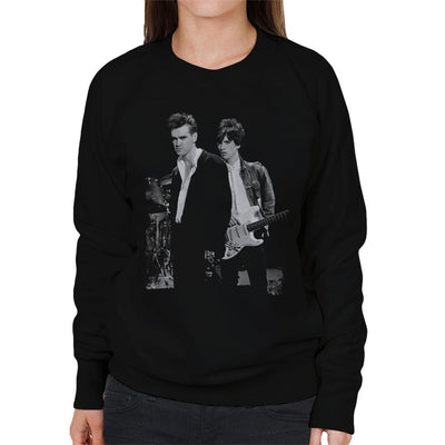 Morrissey And Johnny Marr Of The Smiths 1985 Women's Sweatshirt