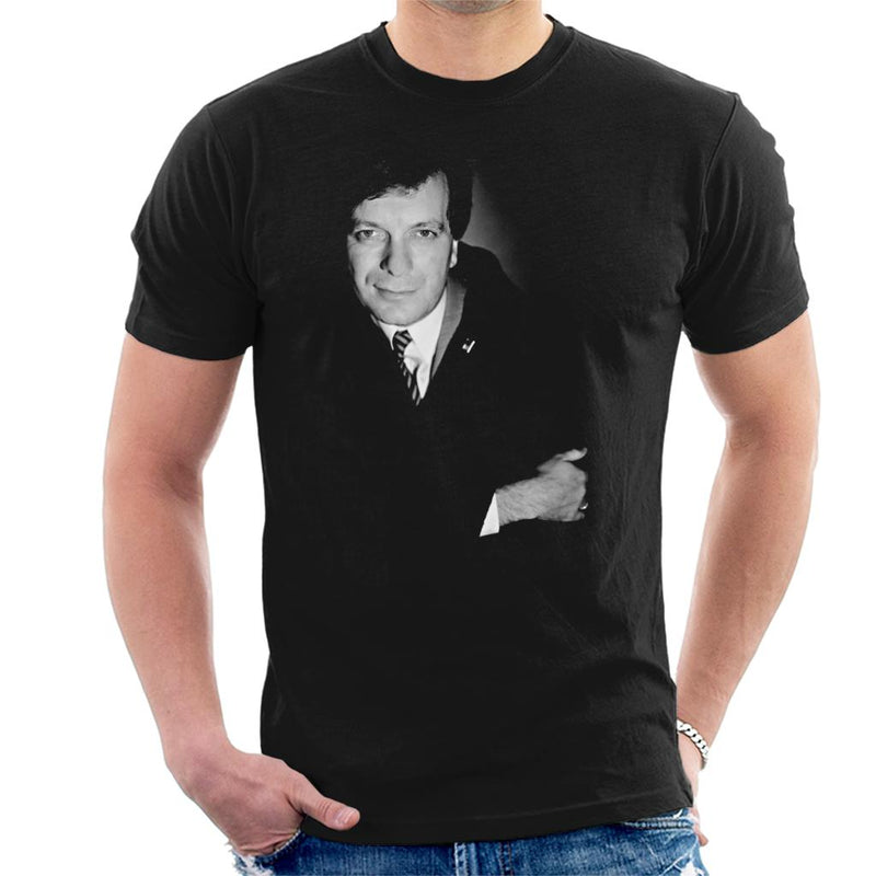 Tony Wilson Portrait Men's T-Shirt - NME Merch