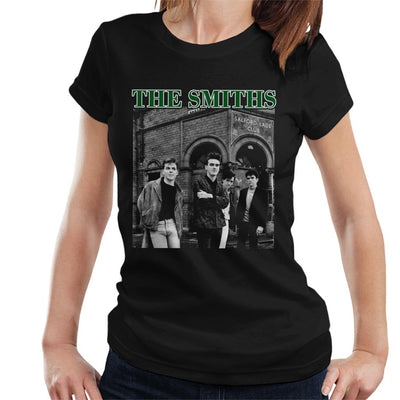 The Smiths Band Shot Salford Lads Club Women's T-Shirt - NME Merch