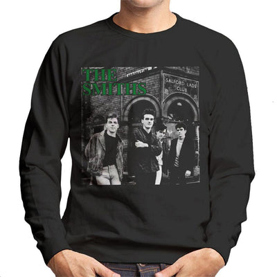 The Smiths Salford Lads Club Band Shot Men's Sweatshirt - NME Merch