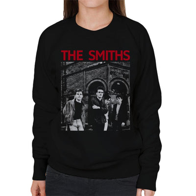 The Smiths Salford Lads Club Manchester Band Shot Women's Sweatshirt - NME Merch