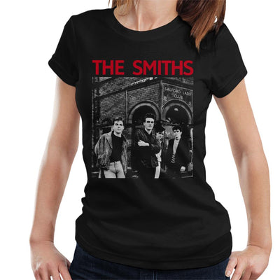 The Smiths Salford Lads Club Manchester Band Shot Women's T-Shirt - NME Merch