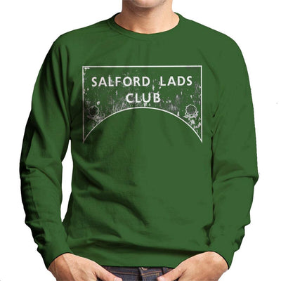 Salford Lads Club Sign Greyscale Men's Sweatshirt - NME Merch