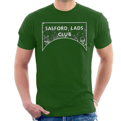Salford Lads Club Sign Greyscale Men's T-Shirt - NME Merch