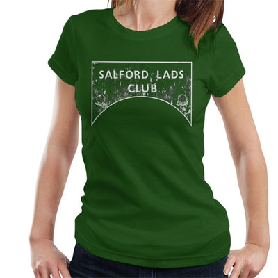 Salford Lads Club Sign Greyscale Women's T-Shirt - NME Merch